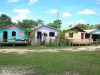 Small village in Manaus, Brazil