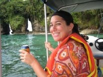 Island hopping with cervezas is never a bad idea