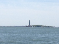 view of Lady Liberty
