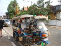 public transportation in the tuk-tuk