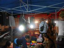 Night market in Luang Prabang