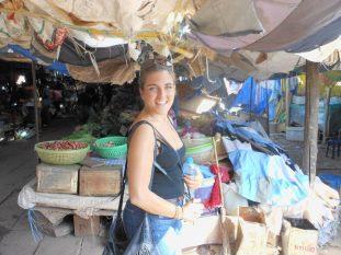 Rita in the market