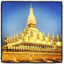 Pha That Luang: the national symbol of Laos