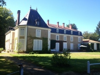 Outside view of the chateau