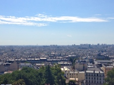 view of the city from Sacre-Coeur