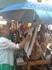 artists in Montmartre
