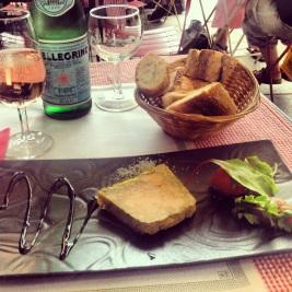 foie gras dinner at Ma Salle a Manger
