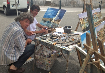 Artists on the street
