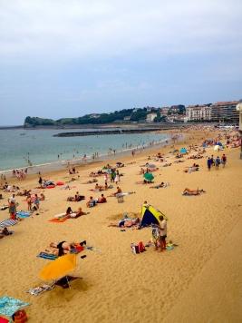 Saint Jean-de-Luz beach