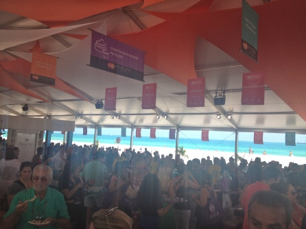 View from the Grand Tasting
